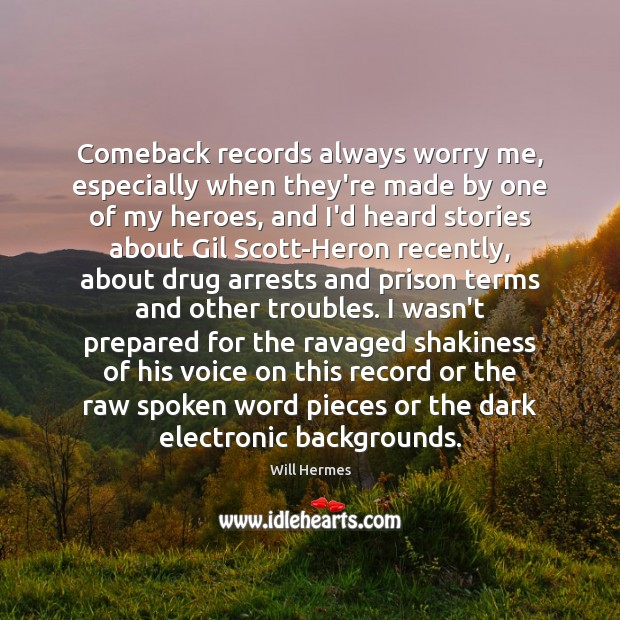 Image, Comeback records always worry me, especially when they're made by one of