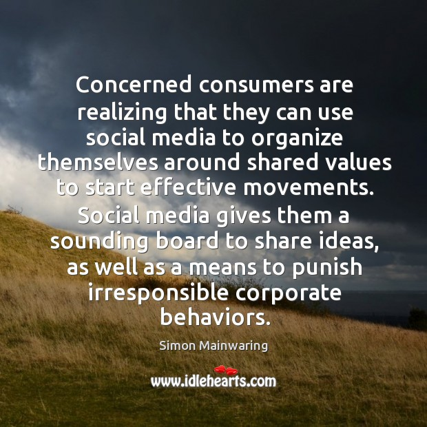 Image, Concerned consumers are realizing that they can use social media to organize