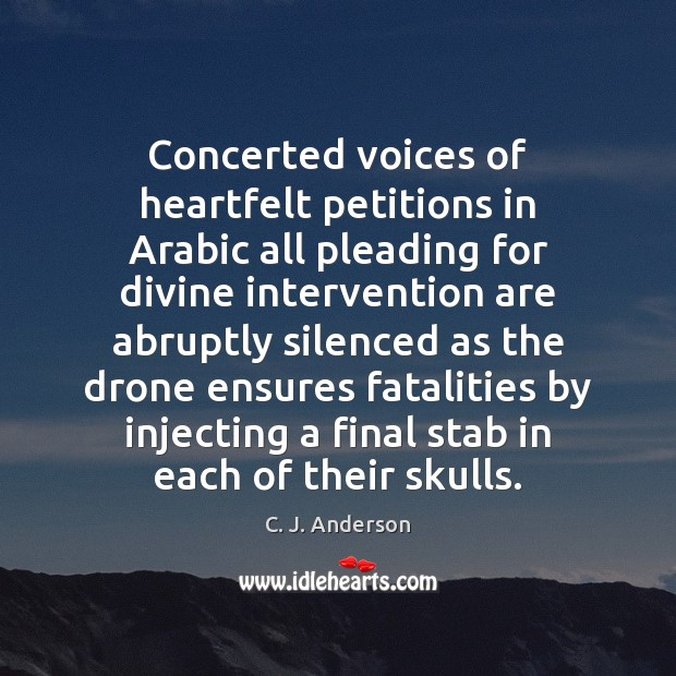 Image, Concerted voices of heartfelt petitions in Arabic all pleading for divine intervention