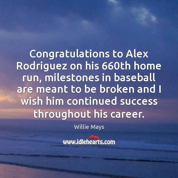 Congratulations to Alex Rodriguez on his 660th home run, milestones in baseball Image
