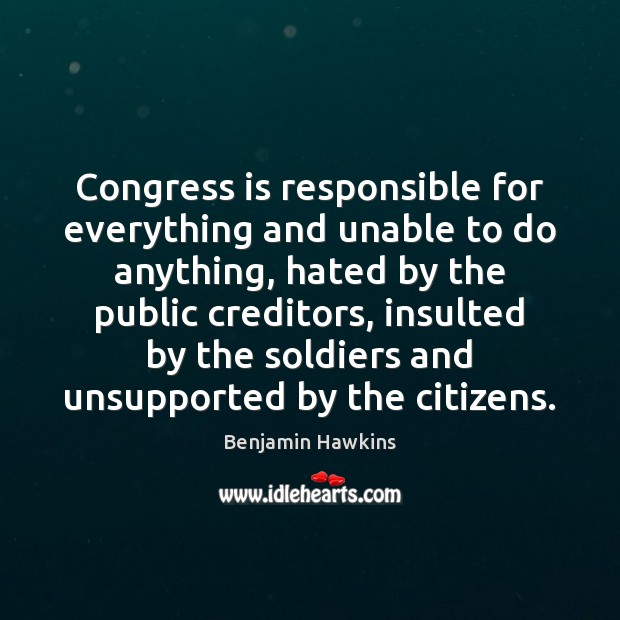Image, Congress is responsible for everything and unable to do anything, hated by