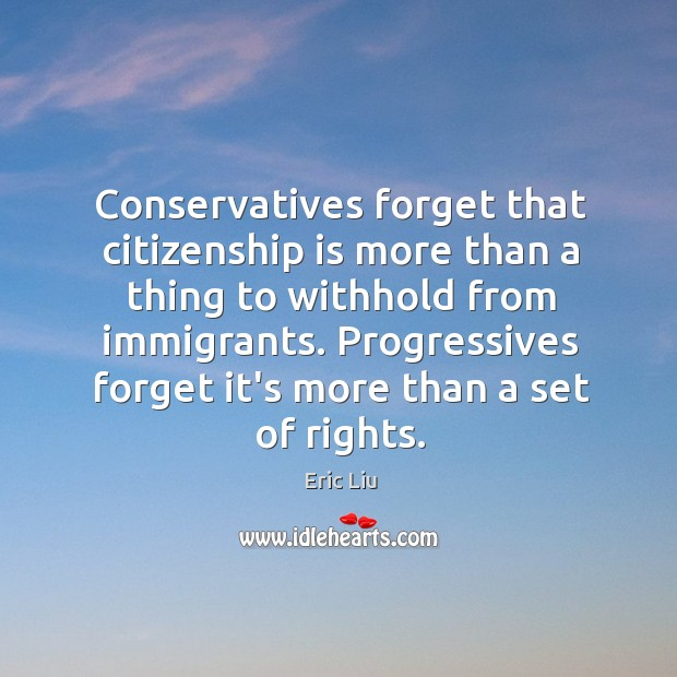 Image, Conservatives forget that citizenship is more than a thing to withhold from