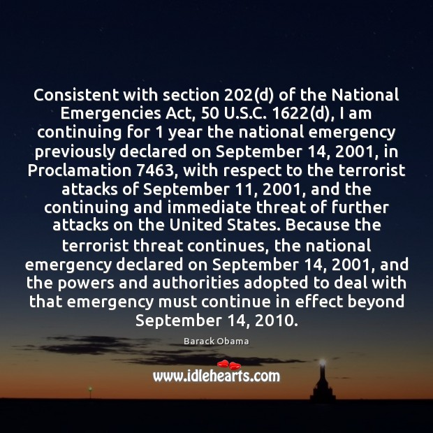 Image, Consistent with section 202(d) of the National Emergencies Act, 50 U.S.C. 1622(