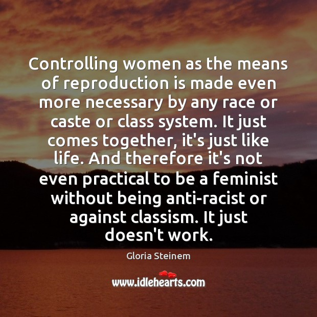 Image, Controlling women as the means of reproduction is made even more necessary