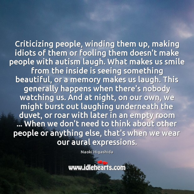 Image, Criticizing people, winding them up, making idiots of them or fooling them
