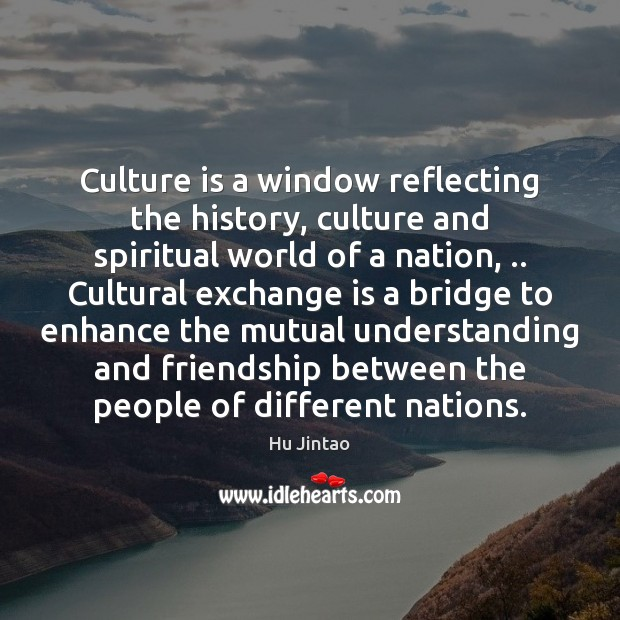Culture is a window reflecting the history, culture and spiritual world of Image