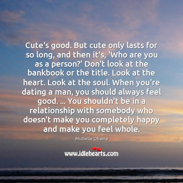 Image, Cute's good. But cute only lasts for so long, and then it's,