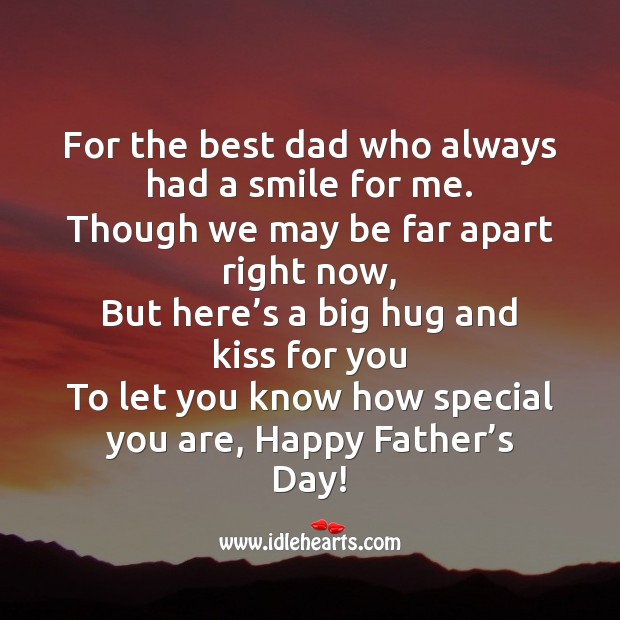 Dad you are special! happy father's day! Father's Day Messages Image