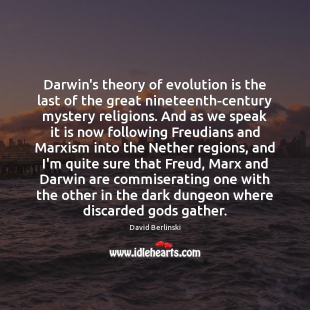 Image, Darwin's theory of evolution is the last of the great nineteenth-century mystery