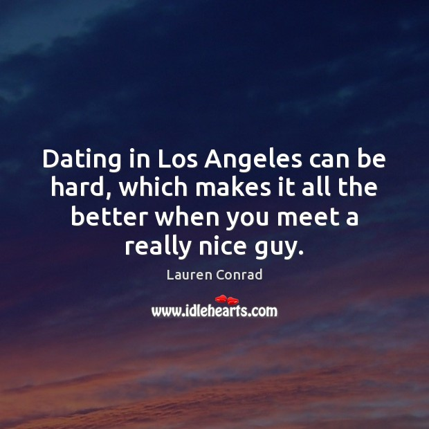 Image, Dating in Los Angeles can be hard, which makes it all the