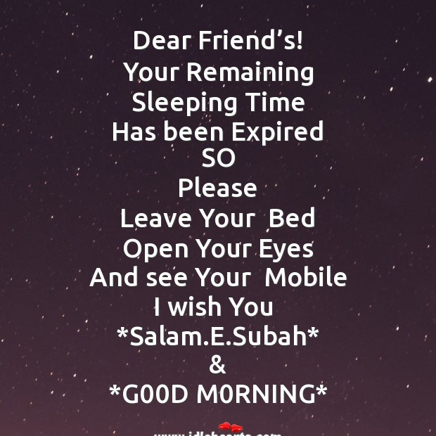 Good Morning Messages