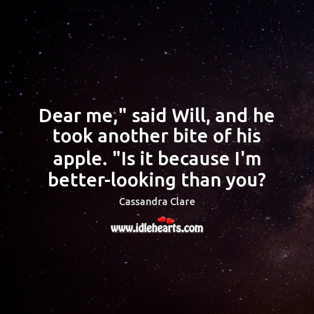 """Dear me,"""" said Will, and he took another bite of his apple. """" Image"""