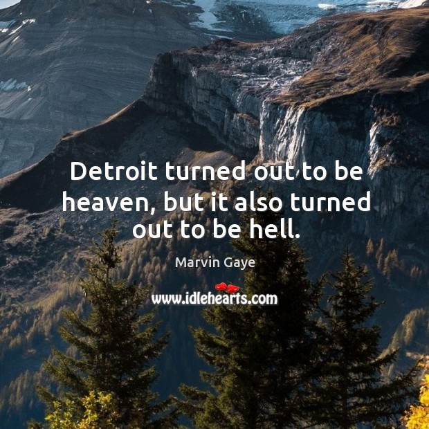 Picture Quote by Marvin Gaye