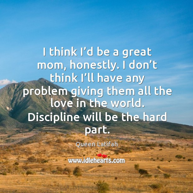 Discipline will be the hard part. Image