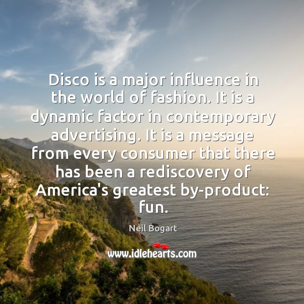 Disco is a major influence in the world of fashion. It is Image
