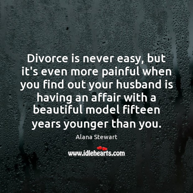 Image, Divorce is never easy, but it's even more painful when you find