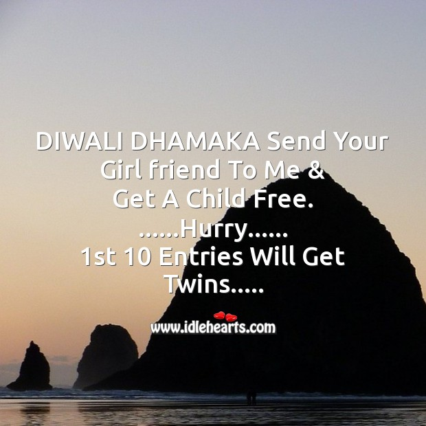 Diwali dhamaka Diwali Messages Image