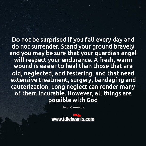 Do not be surprised if you fall every day and do not Image