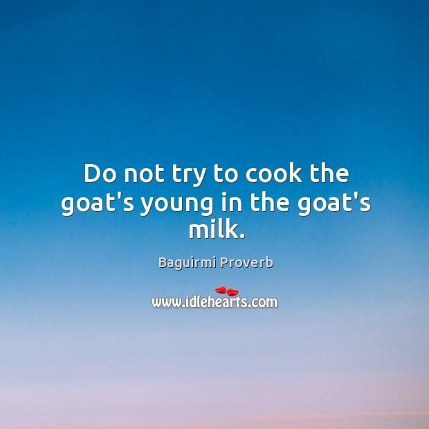 Baguirmi Proverbs