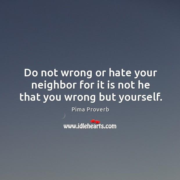 Pima Proverbs