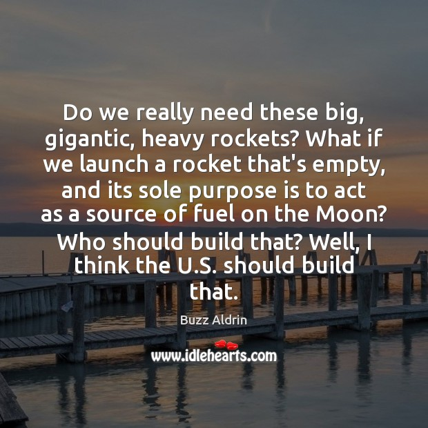 Picture Quote by Buzz Aldrin