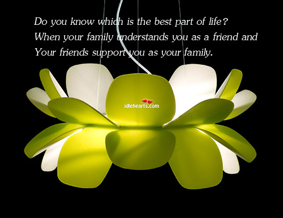 Do you know which is the best part of life? Image