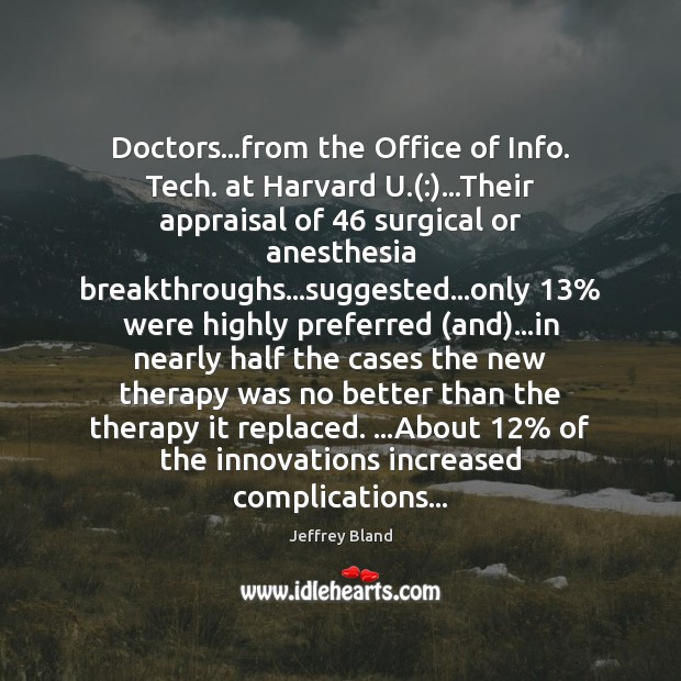 Doctors…from the Office of Info. Tech. at Harvard U.(:)…Their appraisal Image