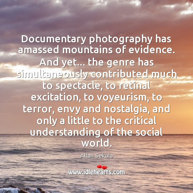 Documentary photography has amassed mountains of evidence. And yet… the genre has Image