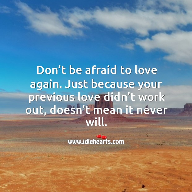 Afraid To Love Quotes On IdleHearts