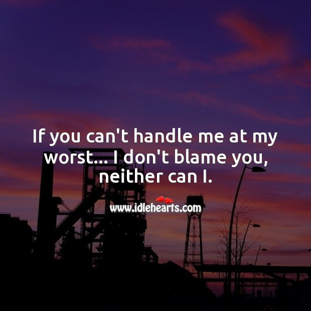 Don't blame me too Image