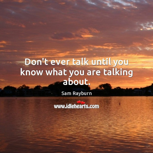 Picture Quote by Sam Rayburn