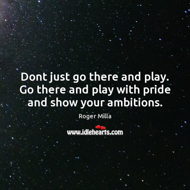 Picture Quote by Roger Milla
