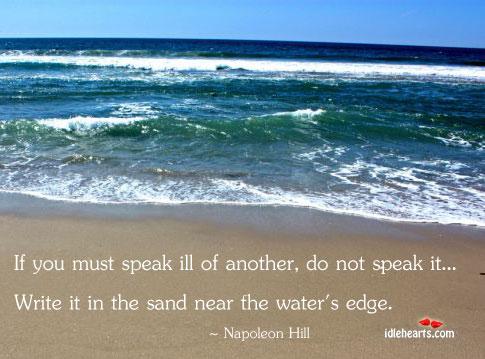 Do not speak Image