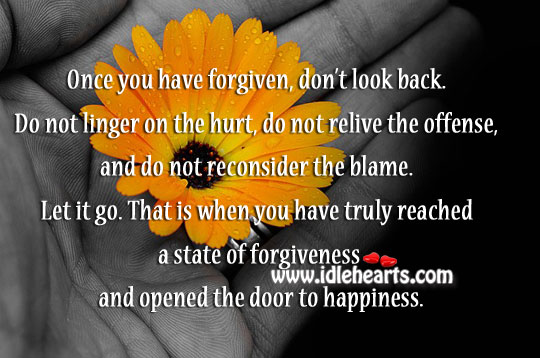 Open The Door To Happiness.