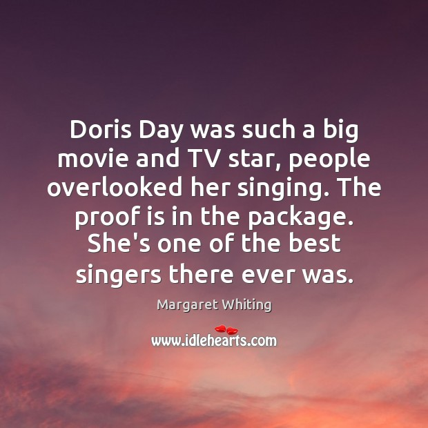 Doris Day was such a big movie and TV star, people overlooked Image