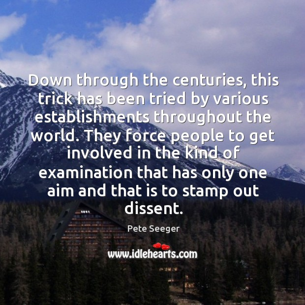 Down through the centuries, this trick has been tried by various establishments throughout the world. Image