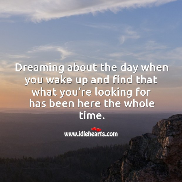 Dreaming Quotes Image