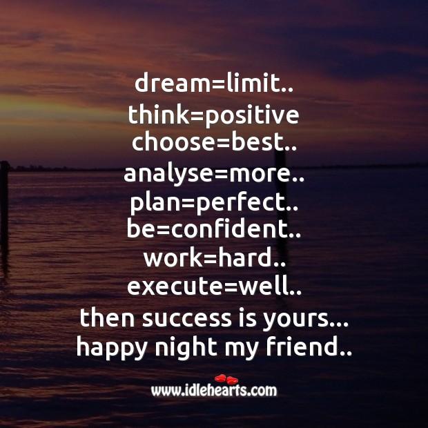 Dream=limit.. Image