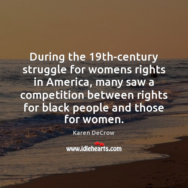 the plight of womens rights in america