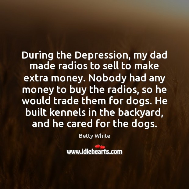 During the Depression, my dad made radios to sell to make extra Image