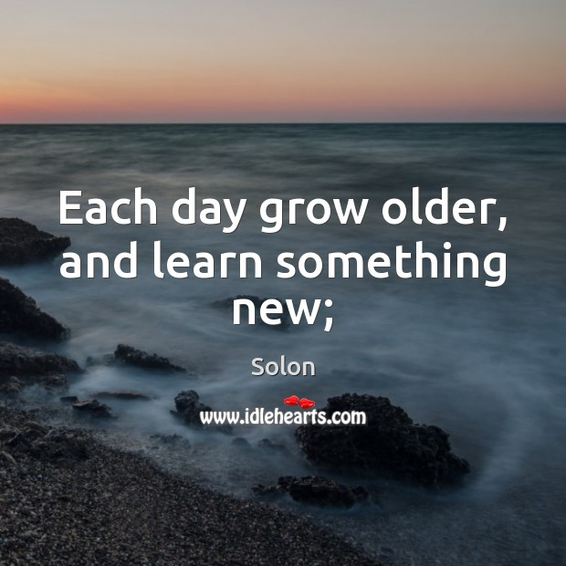 Picture Quote by Solon
