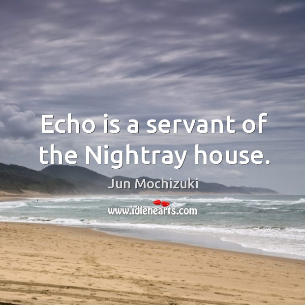 Echo is a servant of the Nightray house. Image