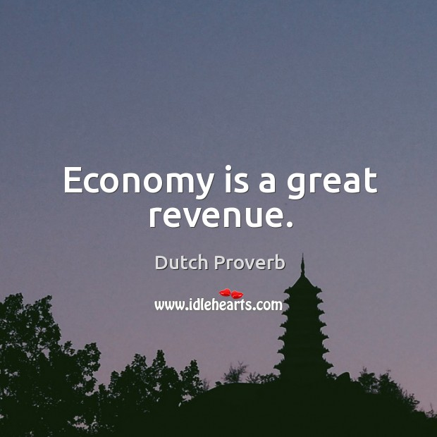 Image, Economy is a great revenue.