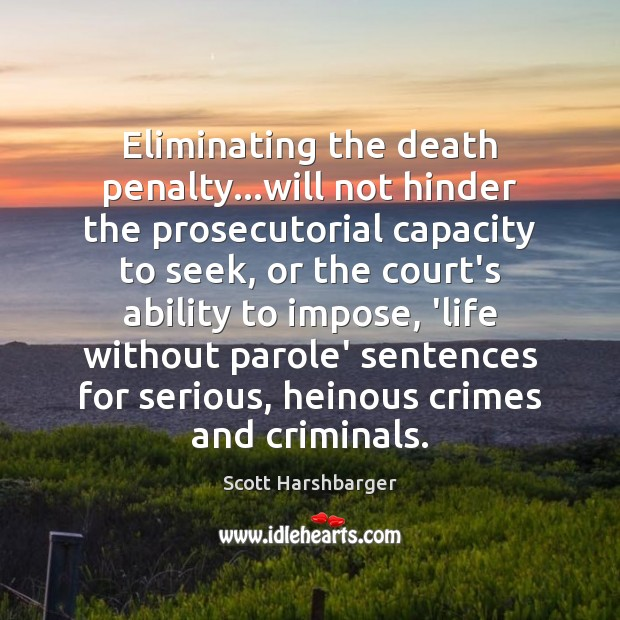 eliminating the death penalty essay
