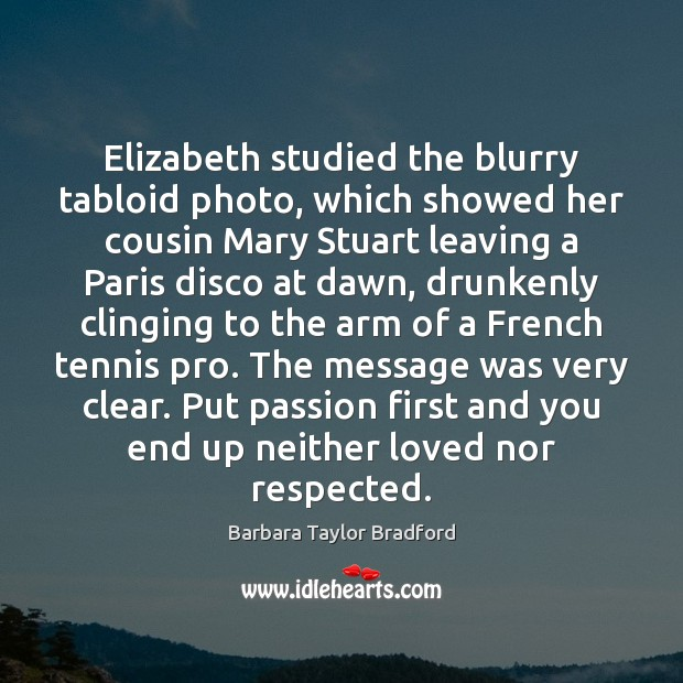 Image, Elizabeth studied the blurry tabloid photo, which showed her cousin Mary Stuart