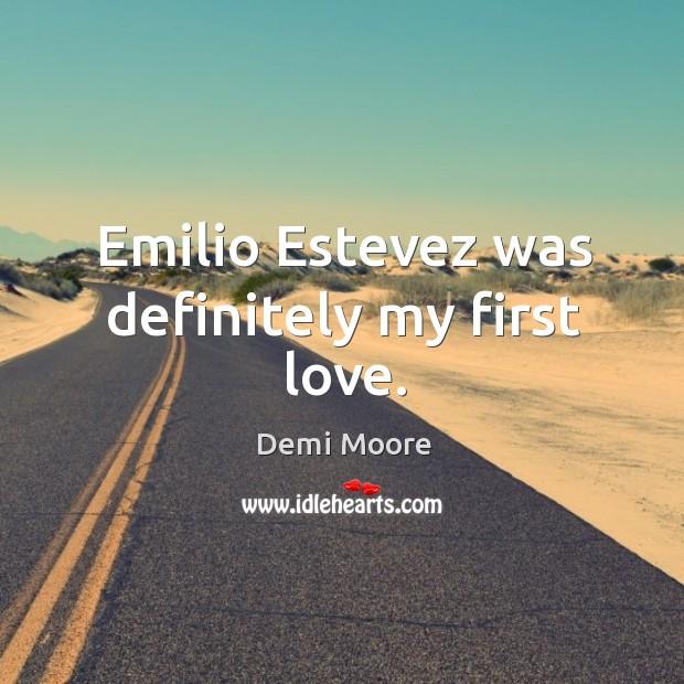 Emilio estevez was definitely my first love. Image
