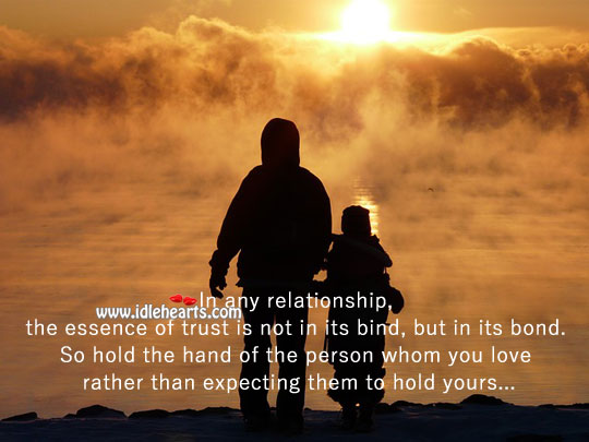 Essence Of Trust