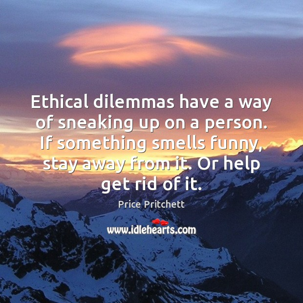 skiers ethical dilemma