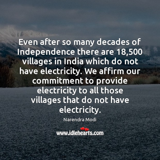 Image, Even after so many decades of Independence there are 18,500 villages in India
