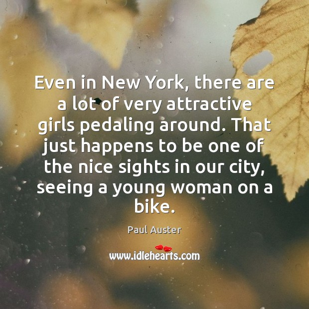 Image, Even in New York, there are a lot of very attractive girls
